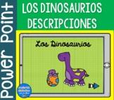 Los Dinosaurios, descripciones   PowerPoint  Spanish Resources