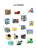 Los Edificios de la Ciudad, Building and City Vocabulary