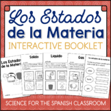 Los Estados de la Materia (States of Matter) SPANISH solid