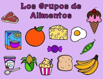 Los Grupos De Alimentos:  Spanish Food Groups Sorting Center