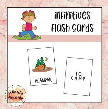 Los Infinitivos Flash Cards