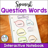 Palabras Interrogativas (Question Words) Spanish Interacti