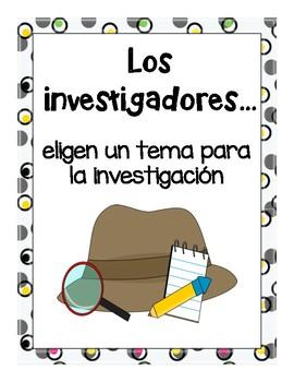 Los Investigadores..... /  Researchers....