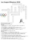 Los Juegos Olímpicos 2018 Crossword Wordsearch Puzzles Rompecabezas