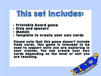 Los Juegos Olímpicos - Themed Board Game
