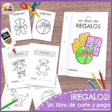 Los Juguetes - Libro de Corte y Pega Ӏ Toys Words in Spani