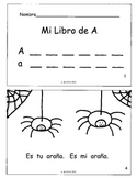 """Los Libritos"" Spanish Phonics Books and Letter Worksheets--PACKET"
