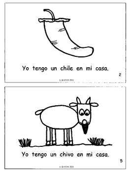 """""""Los Libritos"""" Spanish Phonics Books and Letter Worksheets--PACKET"""