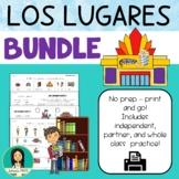 Los Lugares / Spanish Places BUNDLE