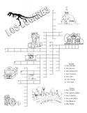 Los Lugares - crossword
