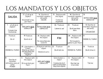 Los Mandatos y los Objetos Directos