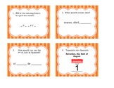 Los Meses / La Fecha: The Date and Month in Spanish Task Cards