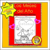 Los Meses del Año - trace & color months in Spanish