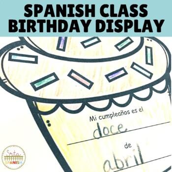 Mi Cumpleaños Es Birthday Classroom Display