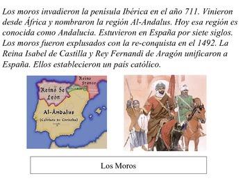 Los Moros y España