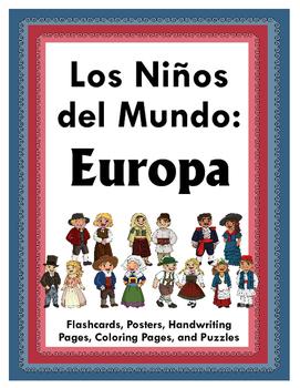 Los Ninos del Mundo: Europa - Activity Bundle