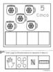 Los Números 1-10-Winter Edition in Spanish