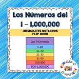 Los Números del 1-1,000,000 Interactive Notebook