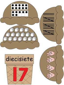 Los Números/Numbers Unit 1-20 In Spanish