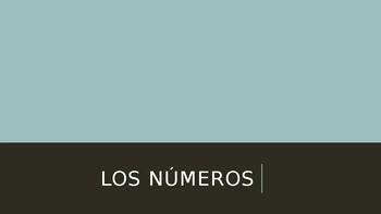 Los Numeros