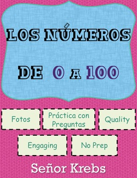 Los Número de 0 a 100 / Spanish Numbers 0 to 100 + Activities
