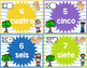 Los Números 0-20/ Numbers 0-20 POSTERS AND FLASHCARDS (SPANISH)