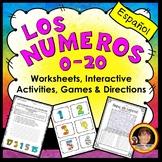 Spanish Numbers Worksheet