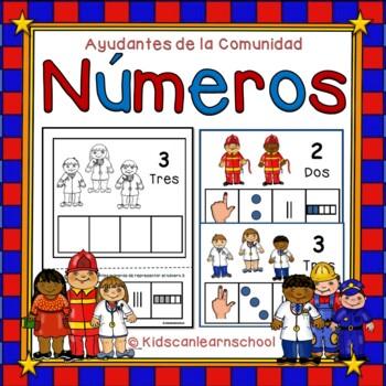 Los Números 1-10, Ayudantes de la Comunidad