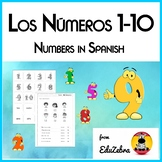 Numbers in Spanish - Los Números 1-10 - Activity Pack