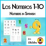Numbers in Spanish - Los Números 1-10 - Activity Pack