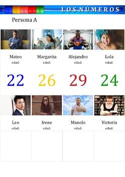 Los Numeros 1-100 - Numbers in Spanish - Bundle