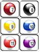 Los Números 1-12 Matching Game and Worksheets