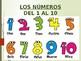 Los Numeros 1-30 con canciones