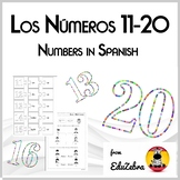 Numbers in Spanish - Los Números 11-20 - Activity Pack