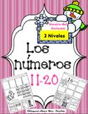 Los Numeros 11-20 numeros invierno Representing numbers 11