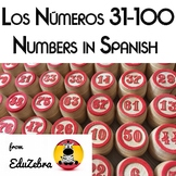 Los Numeros 31-100 - Numbers in Spanish - Activity Pack