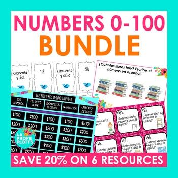 Numbers in Spanish Bundle