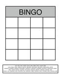 Los Numeros Bingo Grid