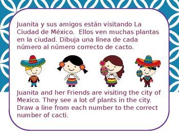 Los Numeros - Elementary Spanish Numbers 1-20 - Juanita Bonita