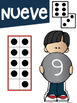 Los Números Math Anchor Charts Numbers 1-10 in Spanish