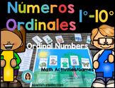 Ordinal Numbers in Spanish