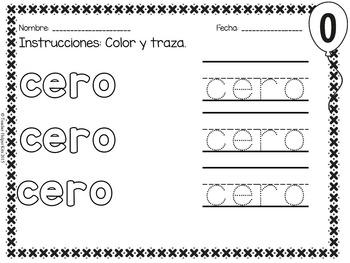 Los Numeros- Spanish Numbers