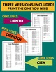 Los Numeros Spanish Numbers 1-100 Reference Sheet