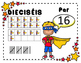 Los Números en el tema de Superheroes