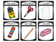 Los Objetos de la Clase- Classroom Objects Vocabulary in Spanish Card Games
