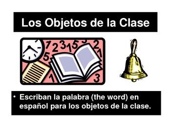 Los Objetos de la Clase - PowerPoint