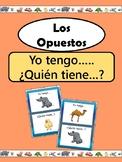 Los Opuestos- Yo tengo.. ¿Quién tiene? Opposites Spanish Vocabulary Card Game