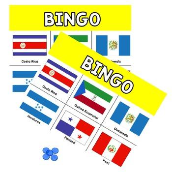 Los Países Hispanohablantes {Bingo & Word Search}