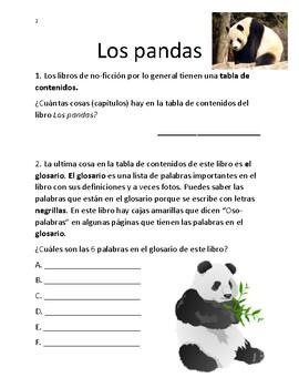 Los Pandas - Libro de no-ficción por Anne Scheiber National Geopgraphic Kids