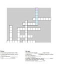 Los Pasatiempos Crossword Puzzle